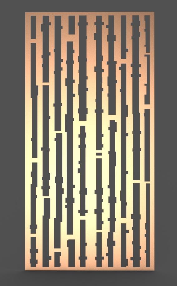 DECORATIVE SCREEN BAMBOO ($/unit)