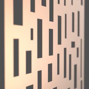 Bricks Corten Steel Decorative Screen