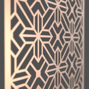 Cairo Corten Steel Decorative Screen