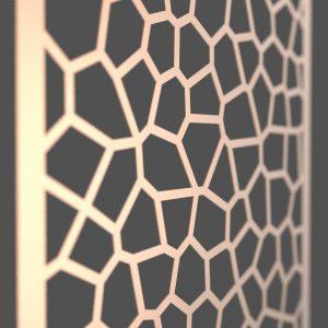 Giraffe Corten Steel Decorative Screen