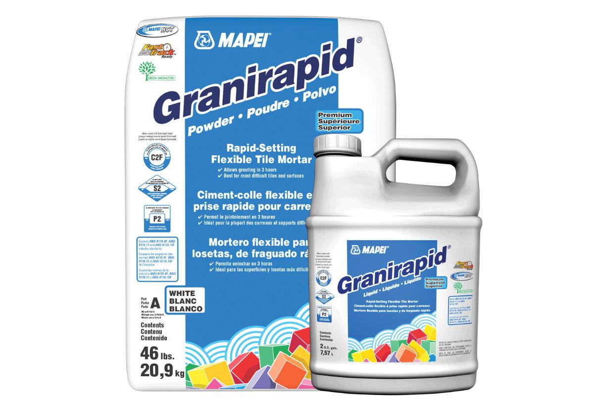 "MAPEI Adhesive Granirapid 2 part ""kit"""