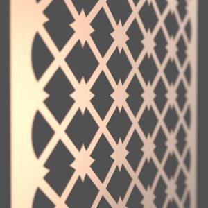 Morocco Corten Steel Decorative Screen