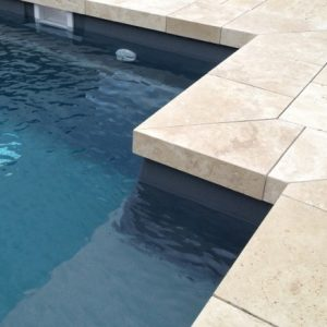 Travertine Coping