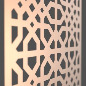 Saigon Corten Steel Decorative Screen