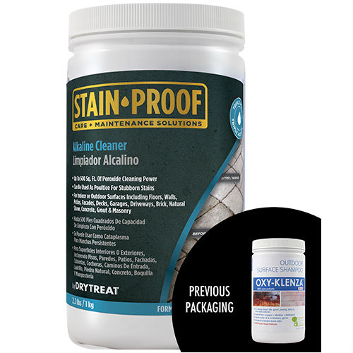 1 KG STAIN PROOF ALKALINE CLEANER - STONE SHAMPOO ($/unit)
