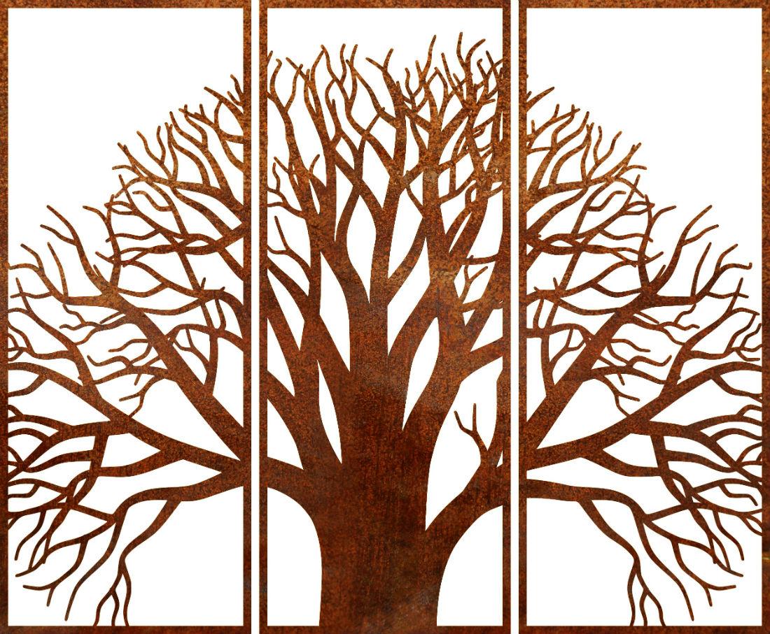 OAK TREE SET OF THREE ($/set)